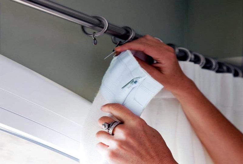 Como lavar estores y visillos para evitar el planchado