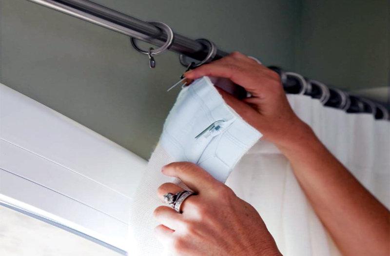 trucos de lavado para no planchar las cortinas