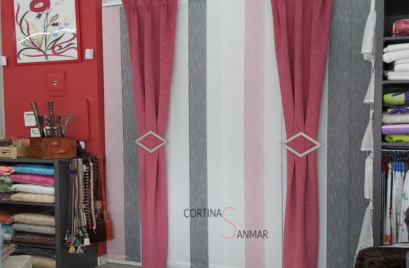 Combinación de las tendencias más actuales en cortinas con una cortina tradicional