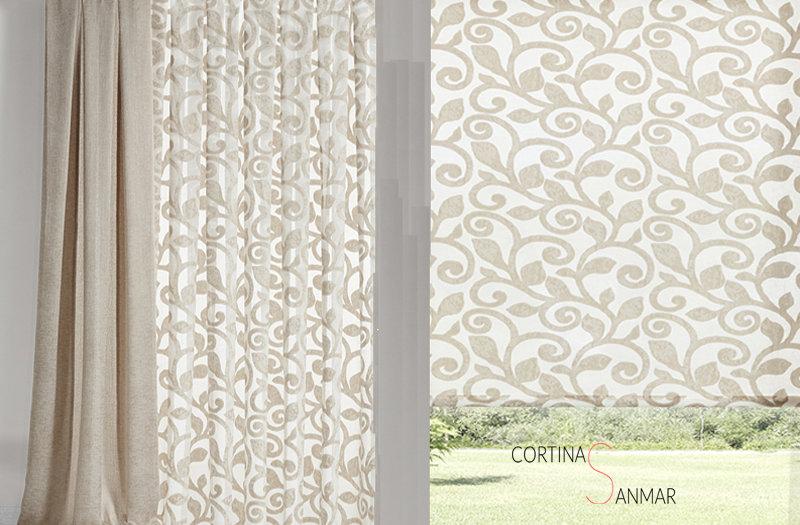 generar dos ambientes en un mismo salón con las cortinas
