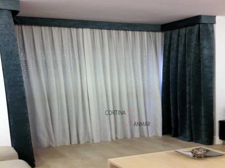 Mirador de ventanas sin persianas