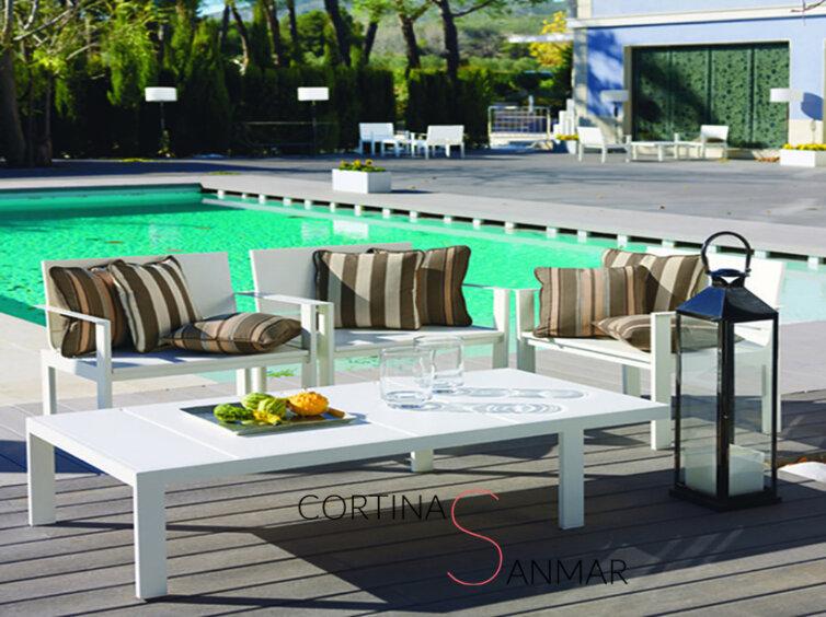 Colección velero tejido de exterior para jardín