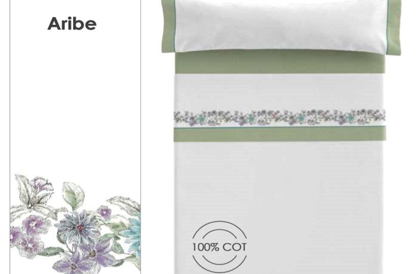 Colección de sabanas clara vidal 100 % algodón para el verano