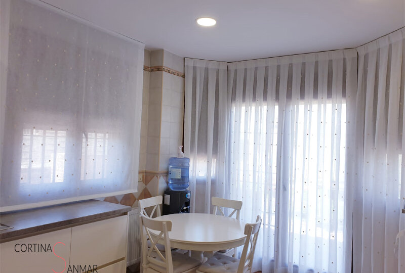 Elección de cortinas para una cocina