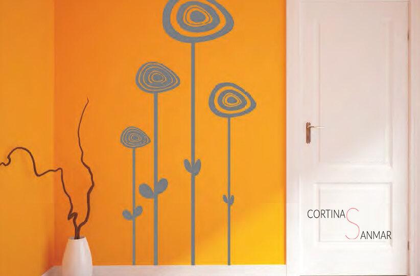 vinilo para pared a elegir tamaño y color